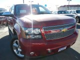 2013 Crystal Red Tintcoat Chevrolet Tahoe LTZ 4x4 #74217800