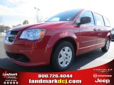 2013 Redline 2 Coat Pearl Dodge Grand Caravan SE #74217647