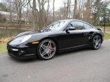 2007 Basalt Black Metallic Porsche 911 Turbo Coupe #74217576