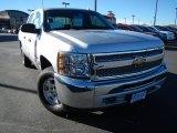 2013 Silver Ice Metallic Chevrolet Silverado 1500 LT Crew Cab 4x4 #74217793