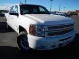 2013 Summit White Chevrolet Silverado 1500 LT Crew Cab 4x4 #74217792