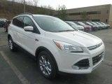 2013 White Platinum Metallic Tri-Coat Ford Escape SEL 1.6L EcoBoost 4WD #74217620