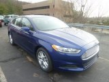 2013 Deep Impact Blue Metallic Ford Fusion SE #74217613