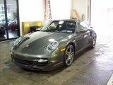 2007 Meteor Grey Metallic Porsche 911 Turbo Coupe #7394491