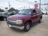 2005 Sport Red Metallic Chevrolet Tahoe LS #74217598