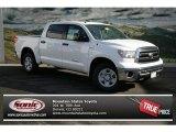 2013 Super White Toyota Tundra SR5 CrewMax 4x4 #74217460