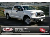2013 Super White Toyota Tundra SR5 Double Cab 4x4 #74217459