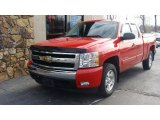 2007 Victory Red Chevrolet Silverado 1500 LT Extended Cab #74217827