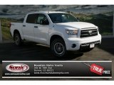 2013 Super White Toyota Tundra TRD Rock Warrior CrewMax 4x4 #74217455
