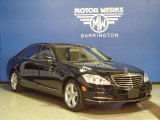 2013 Black Mercedes-Benz S 550 4Matic Sedan #74247135