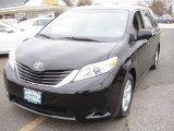 2011 Black Toyota Sienna LE #74247172