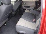 2010 Dodge Ram 3500 Big Horn Edition Mega Cab 4x4 Rear Seat