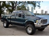 1999 Dark Tourmaline Metallic Ford F350 Super Duty Lariat SuperCab 4x4 #74247194