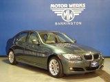 2011 Tasman Green Metallic BMW 3 Series 328i xDrive Sedan #74247141