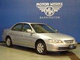 2002 Satin Silver Metallic Honda Accord EX Sedan #74247125