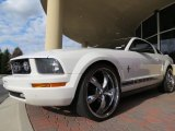 2006 Performance White Ford Mustang V6 Premium Coupe #74256669