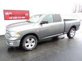 2010 Mineral Gray Metallic Dodge Ram 1500 Big Horn Quad Cab 4x4 #74256771