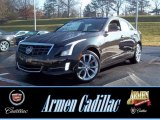 2013 Black Diamond Tricoat Cadillac ATS 2.0L Turbo Performance AWD #74256004