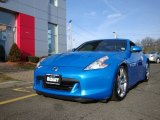 2009 Monterey Blue Nissan 370Z Sport Touring Coupe #74256359