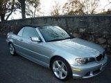2005 Titanium Silver Metallic BMW 3 Series 325i Convertible #734171