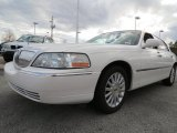 White Pearl Lincoln Town Car in 2003