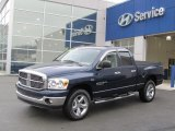 2007 Patriot Blue Pearl Dodge Ram 1500 Thunder Road Quad Cab 4x4 #74255993
