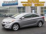 2013 Titanium Gray Metallic Hyundai Elantra Coupe GS #74255991