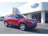 2013 Ruby Red Metallic Ford Explorer XLT #74256244