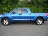 2008 Blue Streak Metallic Toyota Tundra SR5 Double Cab #7396342