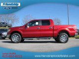 2013 Ruby Red Metallic Ford F150 XLT SuperCrew 4x4 #74256146