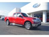 2013 Ruby Red Metallic Ford F150 XLT SuperCab #74256240