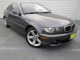 2006 Sparkling Graphite Metallic BMW 3 Series 325i Coupe #74256335