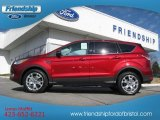 2013 Ruby Red Metallic Ford Escape SEL 1.6L EcoBoost 4WD #74256141