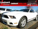 2011 Performance White Ford Mustang V6 Coupe #74256238