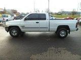 2001 Bright White Dodge Ram 2500 SLT Quad Cab #74256728