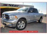 2012 Bright Silver Metallic Dodge Ram 1500 Lone Star Crew Cab #74256434