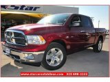 2012 Deep Cherry Red Crystal Pearl Dodge Ram 1500 Lone Star Crew Cab #74256433