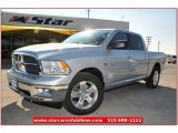 2012 Bright Silver Metallic Dodge Ram 1500 Lone Star Crew Cab #74256432