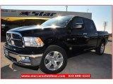 2012 Black Dodge Ram 1500 Lone Star Crew Cab #74256431