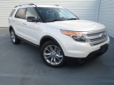 2013 Oxford White Ford Explorer XLT #74256323