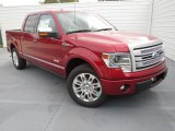 2013 Ruby Red Metallic Ford F150 Platinum SuperCrew #74256321