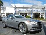 2013 Mercedes-Benz SLK Paladium Silver Metallic