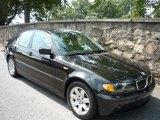 2005 Black Sapphire Metallic BMW 3 Series 325i Sedan #734132
