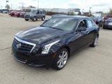 2013 Black Diamond Tricoat Cadillac ATS 2.5L Luxury #74256403