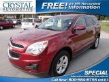 2010 Cardinal Red Metallic Chevrolet Equinox LS #74256576