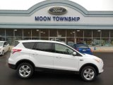 2013 Oxford White Ford Escape SE 1.6L EcoBoost 4WD #74256293