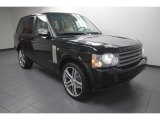 2007 Land Rover Range Rover Java Black Pearl