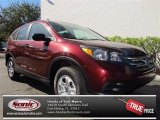 2013 Basque Red Pearl II Honda CR-V LX #74307455