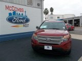 2013 Ruby Red Metallic Ford Explorer FWD #74307583