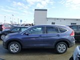 2013 Twilight Blue Metallic Honda CR-V EX-L AWD #74308216